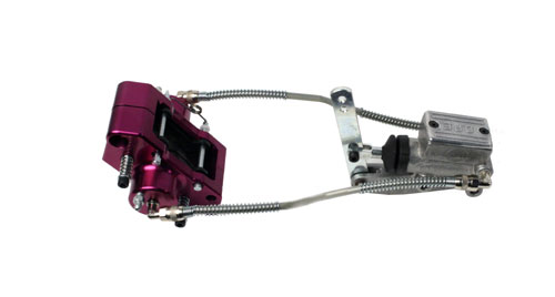 Arrow AX8 MR Complete Brake System, Purple