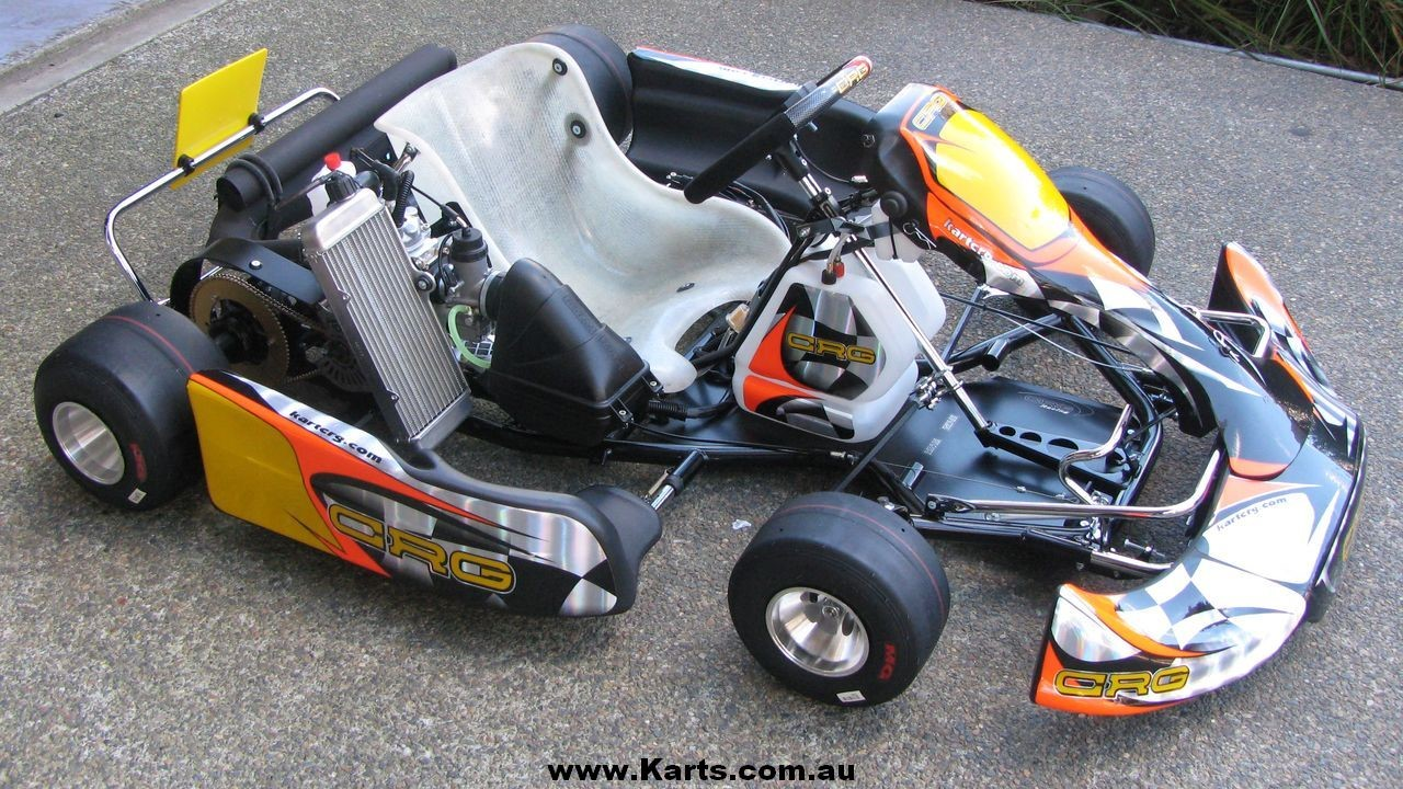 CRG-Kart-with-Rotax-125cc-Watercooled-Engine