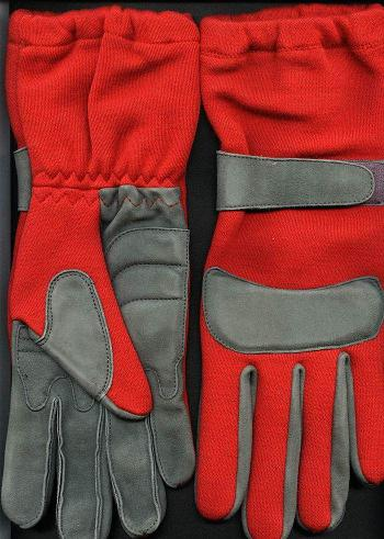 Kart Glove - 7 Size, Red