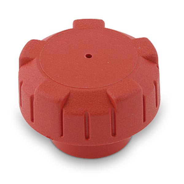 CAP FOR PETROL TANK WITH VALVE, RED COLOUR