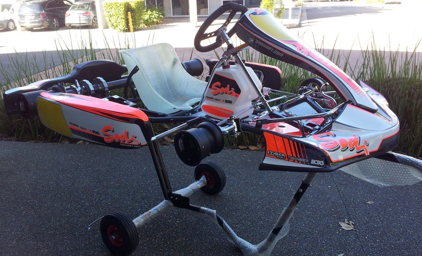 Sodi Sigma 30mm Chassis 50mm Axle with Rotax Max Evo 125cc engine