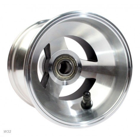 Wheel Front - Alloy 108mm Wide For CADET (100mm internal)