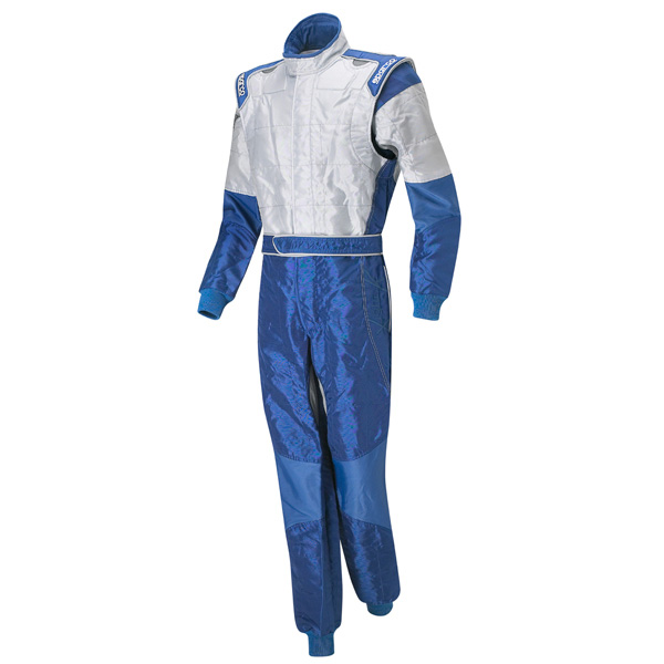 SPARCO X-LIGHT KARTING SUIT - BLUE/ GREY- SIZE 60