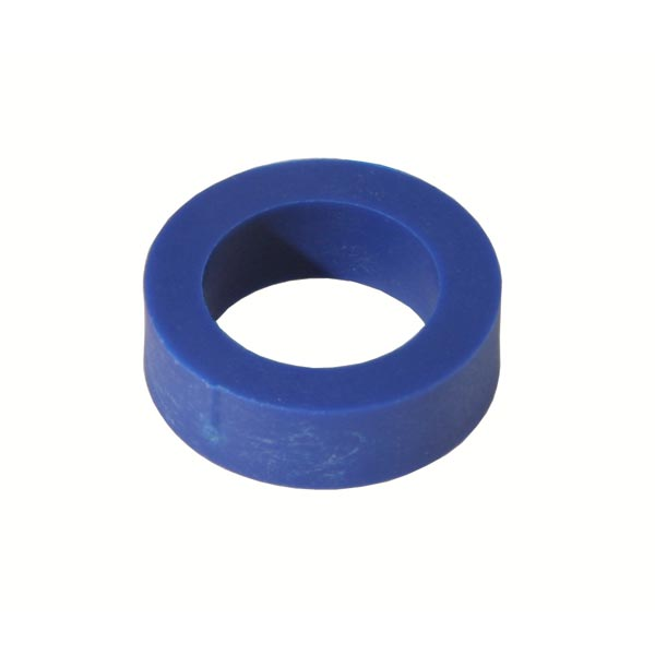 PLASTIC SPINDLE SPACER 17x8mm BLUE COLOUR