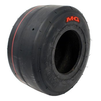 MG Red Front Tyre